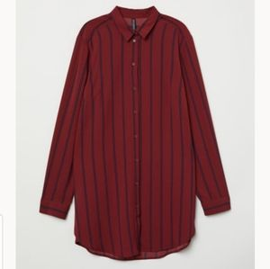 H&M Creped Shirt